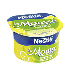 Pot la Mousse NESTLÉ Citron 12CL/59G