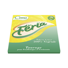 CEMA FERIA Tourage 65% MG plaque 2Kg